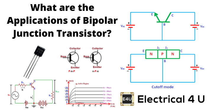 What Are The Applications Of Bipolar Junction Transistor