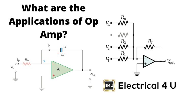What Are The Applications Of Op Amp