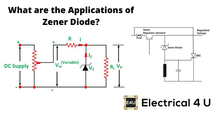What Are The Applications Of Zener Diode