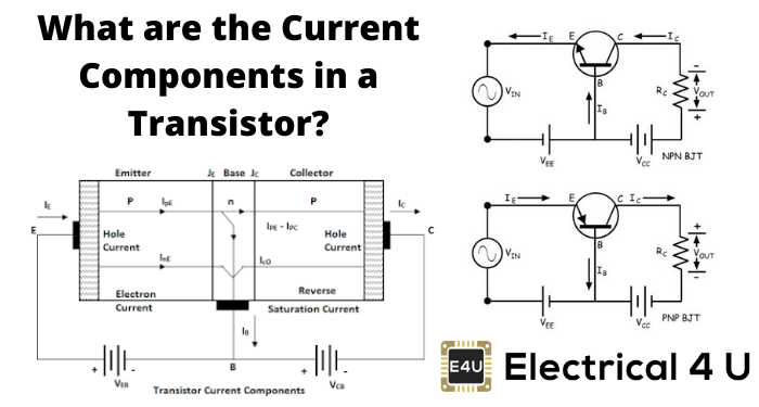 What Are The Current Components In A Transistor
