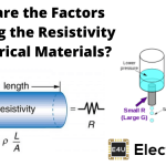 Factors Effecting the Resistivity of Electrical Materials