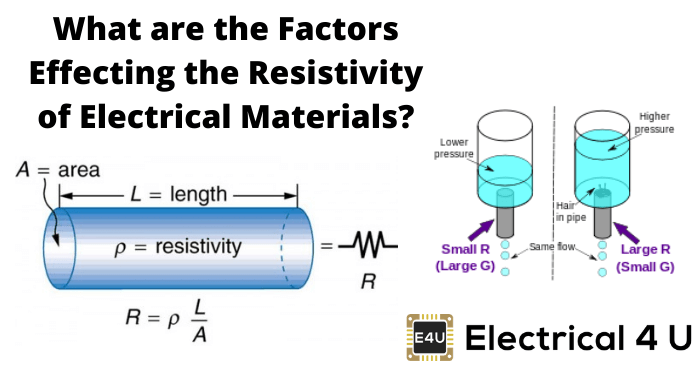 What Are The Factors Effecting The Resistivity Of Electrical Materials