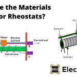 Materials used for Rheostats