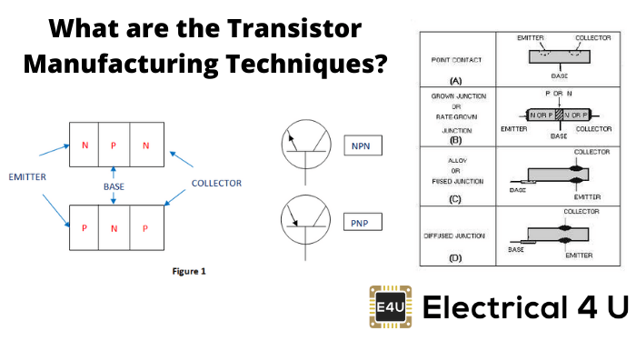 What Are The Transistor Manufacturing Techniques