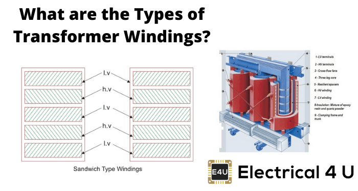 What Are The Types Of Transformer Windings