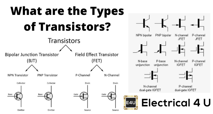 What Are The Types Of Transistors