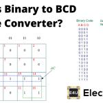 Binary to BCD Code Converter