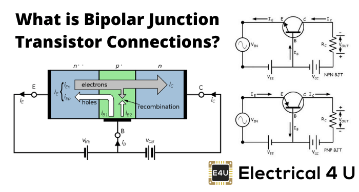 What Is Bipolar Junction Transistor Connections
