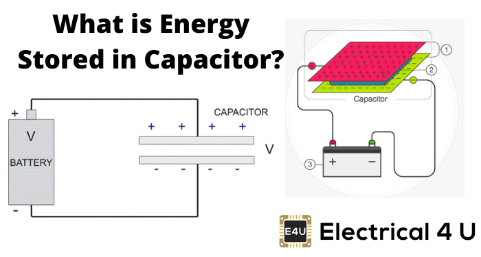 What Is Energy Stored In Capacitor