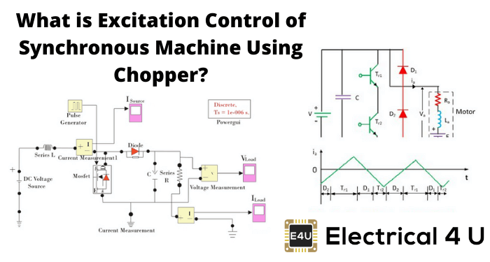 What Is Excitation Control Of Synchronous Machine Using Chopper