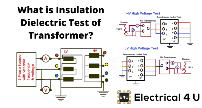 What Is Insulation Dielectric Test Of Transformer