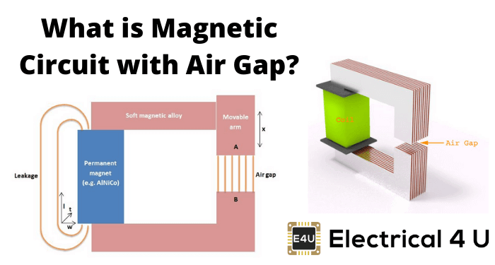 What Is Magnetic Circuit With Air Gap