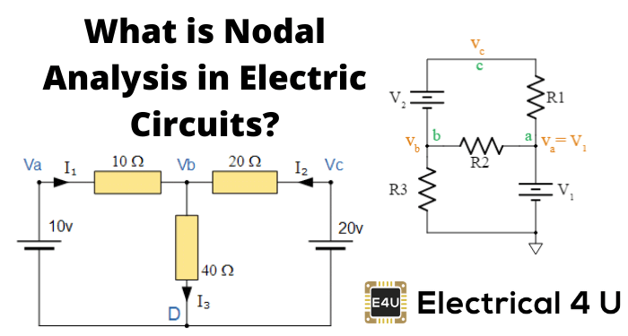 What Is Nodal Analysis In Electric Circuits