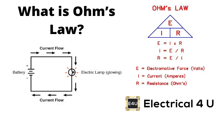 Ohm S Law Statement Applications And Limitation Of Ohm S Law Electrical4u