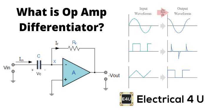 What Is Op Amp Differentiator