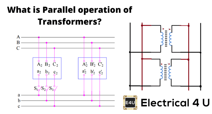 What Is Parallel Operation Of Transformers