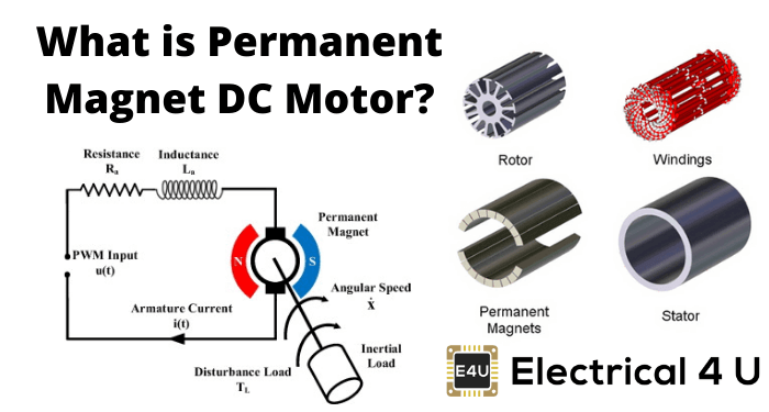 Permanent Magnet Dc Motor Pmdc Motor How Do They Work Electrical4u