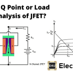 Q Point or Load Line Analysis of JFET