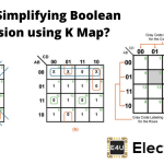 Simplifying Boolean Expression using K Map