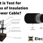Test for Thickness of Insulation of Power Cable