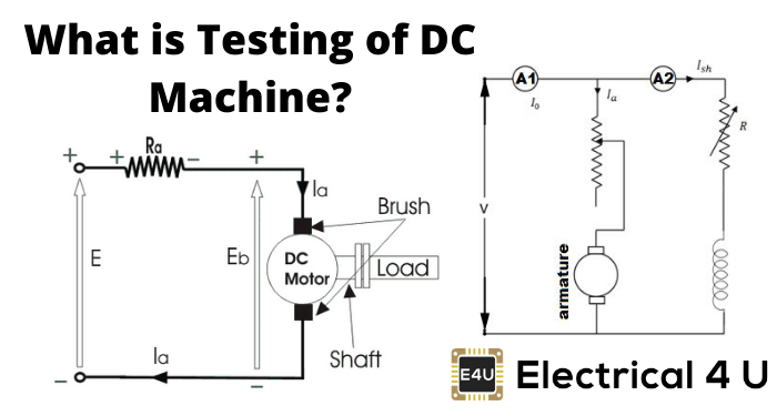 What Is Testing Of Dc Machine