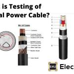 Testing of Electrical Power Cable | Type Test | Acceptance Test | Routine Test