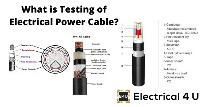 What Is Testing Of Electrical Power Cable