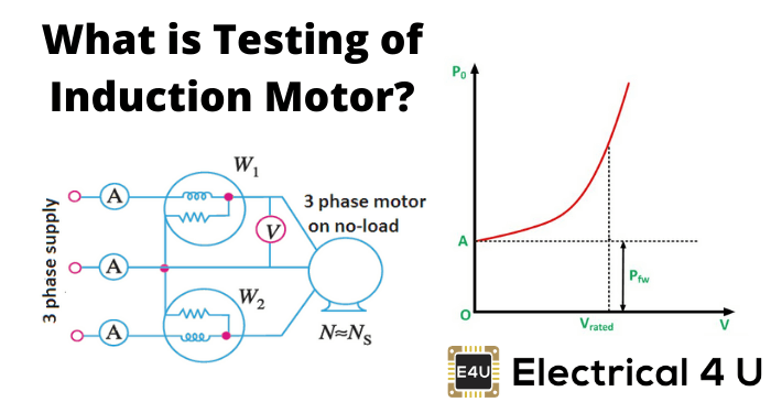What Is Testing Of Induction Motor