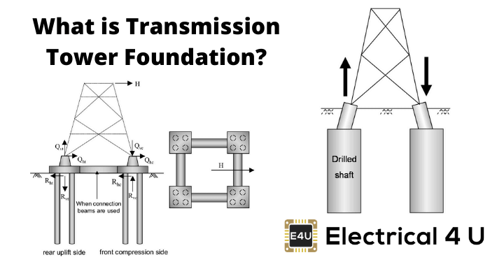 What Is Transmission Tower Foundation