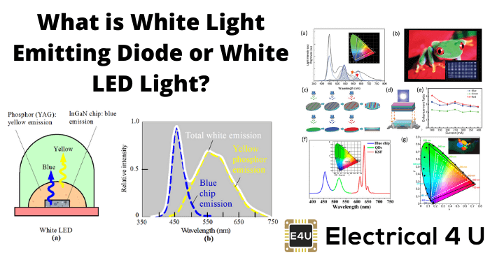 What Is White Light Emitting Diode Or White Led Light
