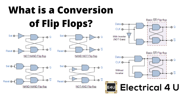 What Is A Conversion Of Flip Flops