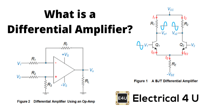 Differential Amplifiers: Gain, OP Amp & BJT Circuit