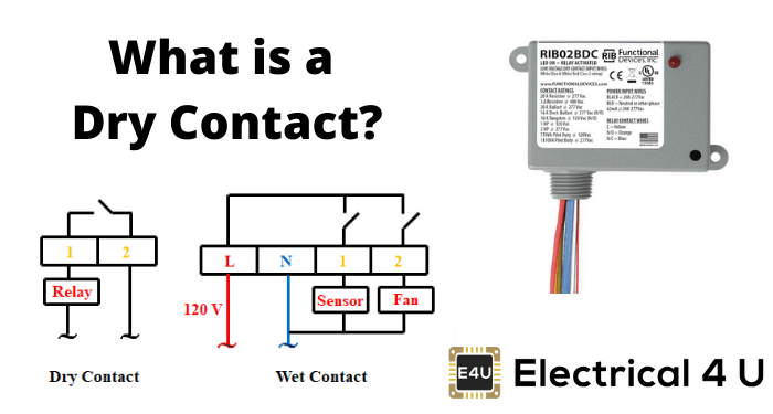 dry contacts what is it dry contact vs wet contact