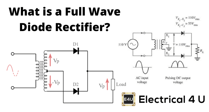 What Is A Full Wave Diode Rectifier