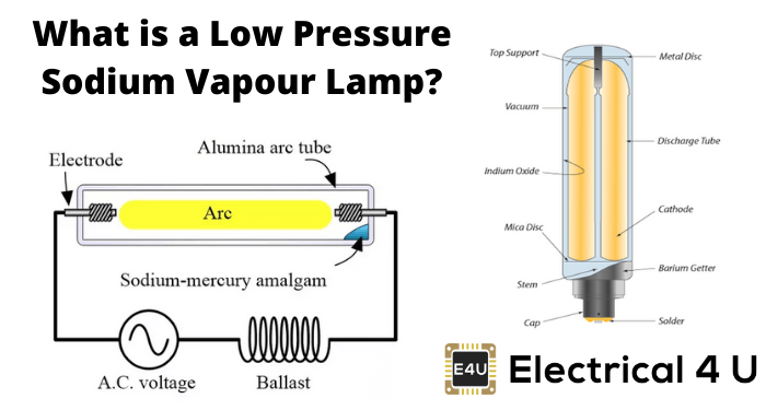 What Is A Low Pressure Sodium Vapour Lamp