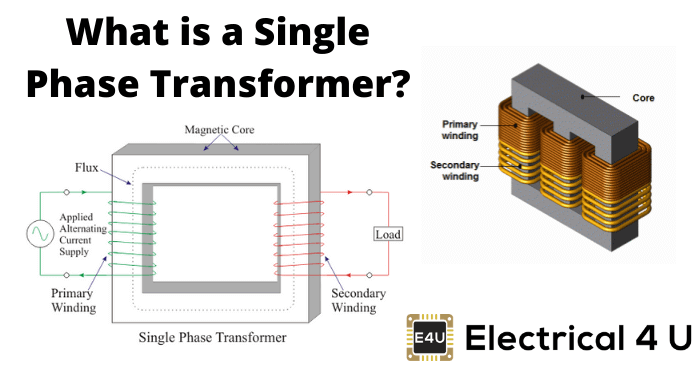 What Is A Single Phase Transformer
