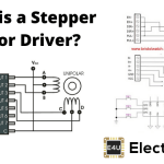Stepper Motor Driver (Circuit Diagram & Schematic)