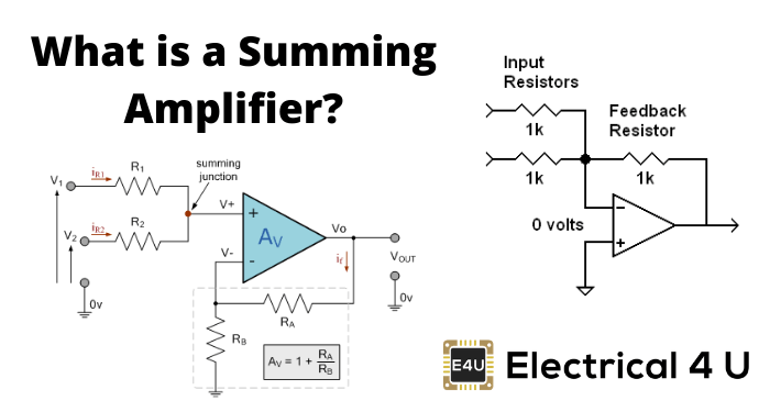 What Is A Summing Amplifier