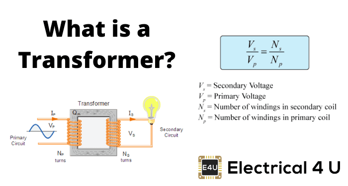 What Is A Transformer And How Does It Work Electrical4u