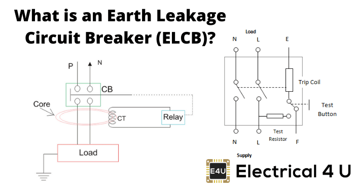 What Is An Earth Leakage Circuit Breaker (elcb)