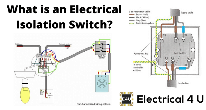 Electrical Isolation Switch Electrical4u