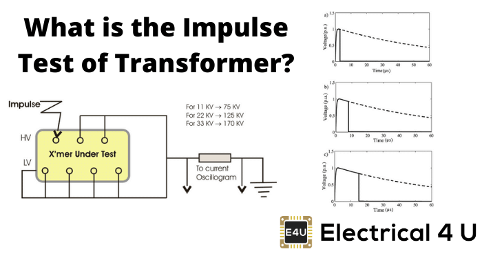 What Is The Impulse Test Of Transformer