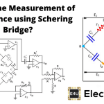 Schering Bridge Measurement of Capacitance using Schering Bridge