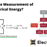 Measurement of Electrical Energy