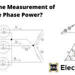 Measurement of Three Phase Power