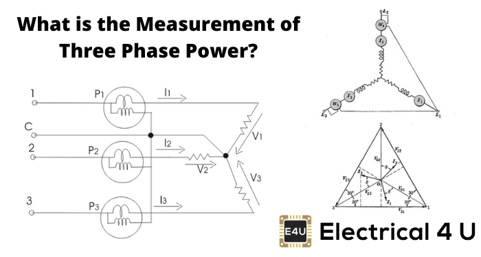 What Is The Measurement Of Three Phase Power