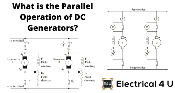 What Is The Parallel Operation Of Dc Generators