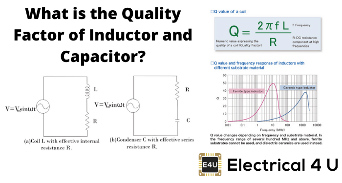 What Is The Quality Factor Of Inductor And Capacitor
