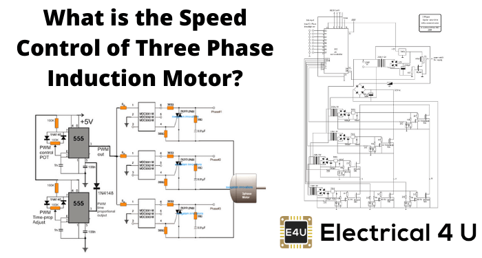 What Is The Speed Control Of Three Phase Induction Motor