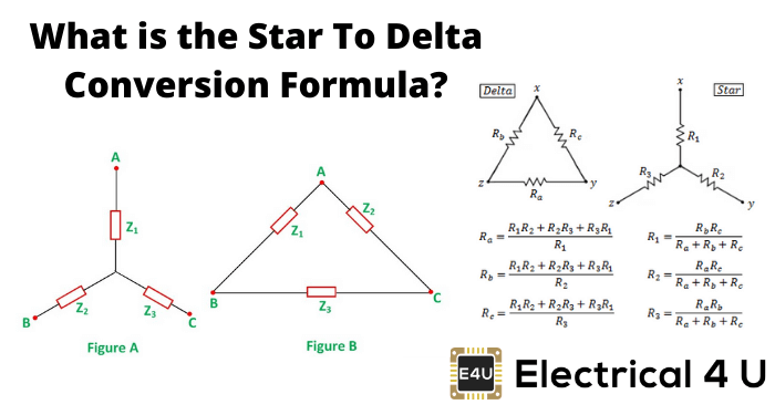 What Is The Star To Delta Conversion Formula